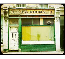 tea rooms Photographic Print