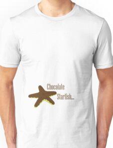 Chocolate Starfish Unisex T-Shirt