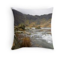 Stormy Surroundings Throw Pillow