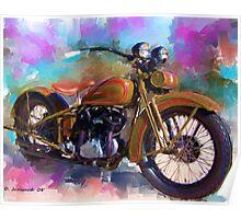 1930 Harley Poster