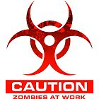 Zombie At Work by zombiegirl01