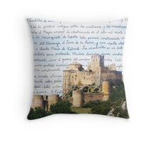 El Castillo De Loarre Throw Pillow