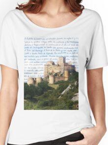 El Castillo De Loarre Women's Relaxed Fit T-Shirt