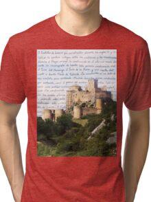 El Castillo De Loarre Tri-blend T-Shirt
