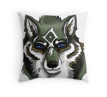 Wolf Link Throw Pillow