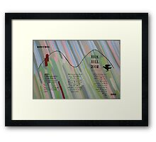 Rook Hill Spell Painting Framed Print