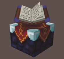 Blockcraft - Enchantment table - BDpureCraft version T-Shirt