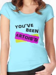 You've Been Artois'd Women's Fitted Scoop T-Shirt