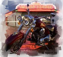 Indian Motorcycle by ezcat