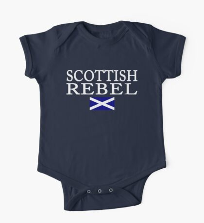 Scottish Rebel Flag One Piece - Short Sleeve