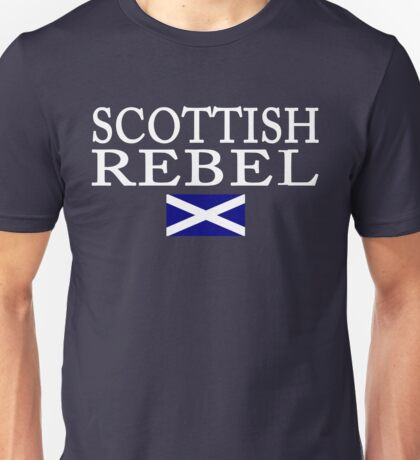 Scottish Rebel Flag Unisex T-Shirt