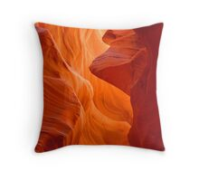 Lower Antelope Canyon Slot Throw Pillow