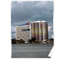 APARTMENTS, MIAMI FLA.  1984 Poster