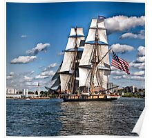 Sailing Home - Erie, PA Poster