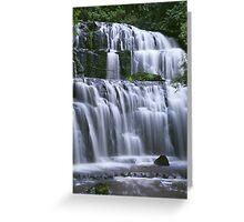 Purakaunui Falls Greeting Card