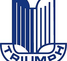 Blue Triumph Logo by JustBritish