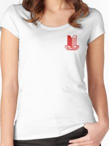 Triumph Shield Logo - Red Women's Fitted Scoop T-Shirt