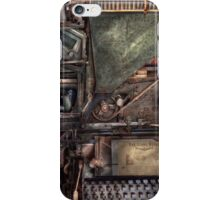 Steampunk - Machine - All the bells and whistles  iPhone Case/Skin
