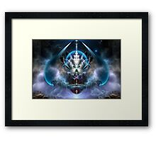Thera Of Titan The Serenity Of Time Framed Print