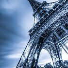 Eiffel Tower 4 by John Velocci