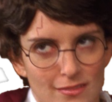 Liz Lemon/Harry Potter Sticker