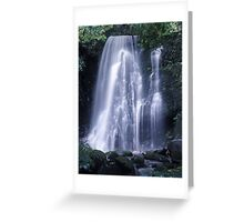 Matai falls Greeting Card