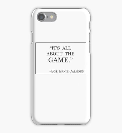 VGHS Calhoun's Motto iPhone Case/Skin