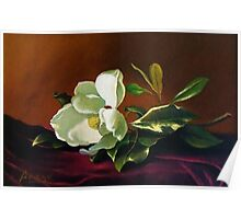 Still Life with Gardenia Poster