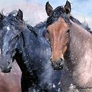 Horses by ezcat