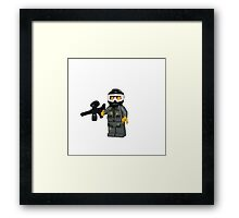 LEGO Paintballer Framed Print
