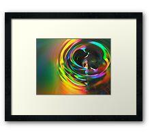 Drop of Colour Framed Print
