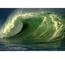 Waimea Bay Shorebreak Photographic Print