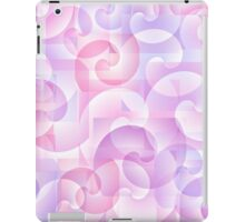 Abstract spiral background iPad Case/Skin