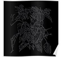 The Plant (charcoal black) Poster