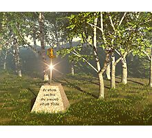 Sword In The Stone Photographic Print