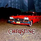 Christine Plymouth Fury 1958  by ALIANATOR
