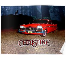 Christine Plymouth Fury 1958  Poster