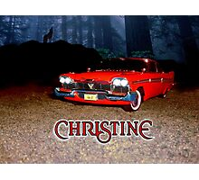 Christine - from the mind of horror writer stephen King Photographic Print
