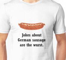 German Sausage Pun Unisex T-Shirt