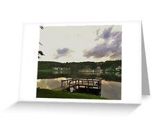 Lake Sand Pond - French Woods Festival of the Performing Arts, New York Greeting Card