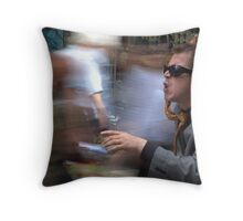 City rush Throw Pillow