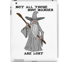 Gandalf The Lost iPad Case/Skin