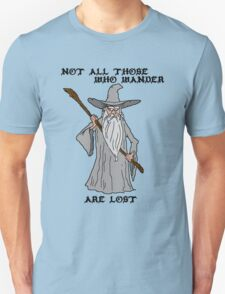 Gandalf The Lost Unisex T-Shirt