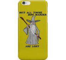 Gandalf The Lost iPhone Case/Skin