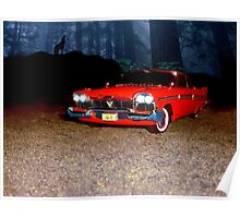 Plymouth fury 1958 Poster