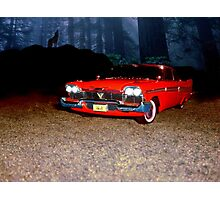 Christine - Plymouth 1958 Photographic Print