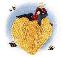 Bee my Valentine by FrauKeks