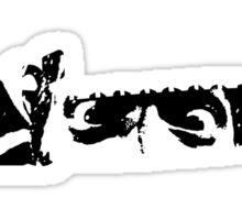 Evil Dead Chainsaw Sticker