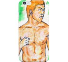 Watercolor Fighter iPhone Case/Skin
