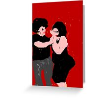 boogie nights Greeting Card